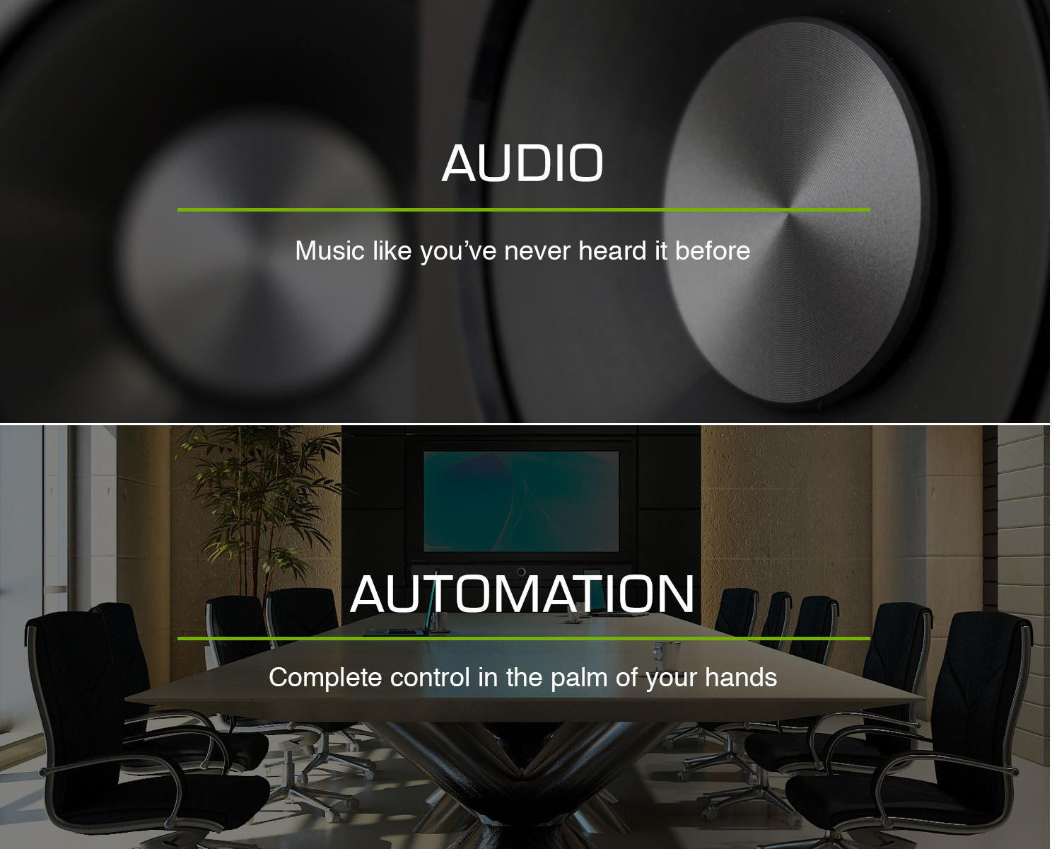 High end audio systems and a/v automation